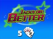 Jacks or Better 5 Hand